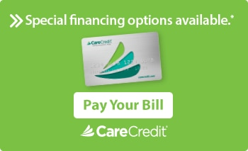 CareCredit Pay Your Bill button