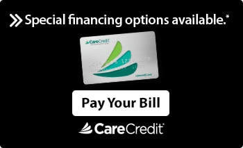 The Logo the finance company CareCredit.
