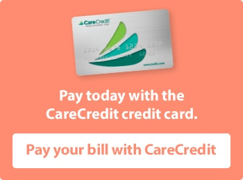 Pay your bill with Care credit button