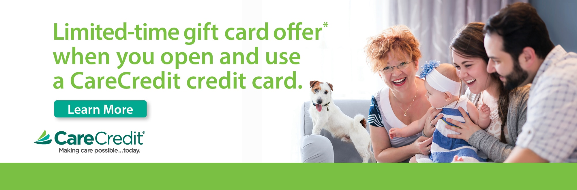 , CareCredit Special Offer